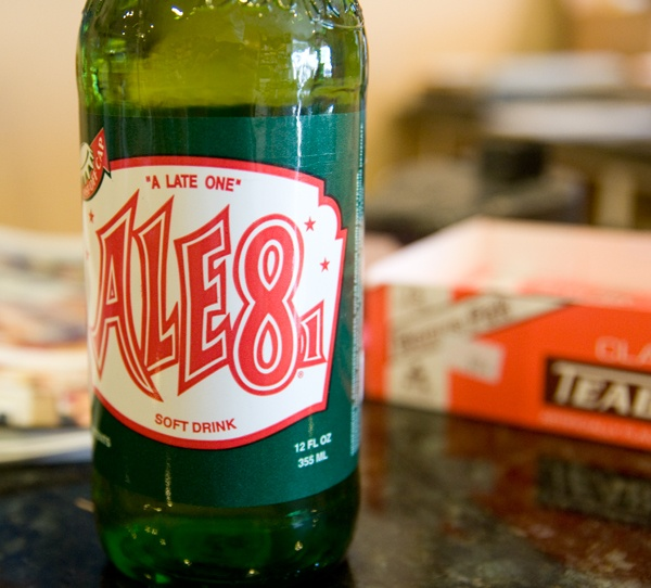 Ale 8 > any other soda. Wish I could get some in Orlando :(
