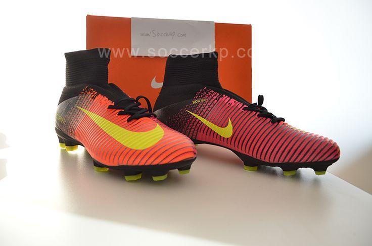 Nike Mercurial Superfly V FG - Total Crimson/Volt/Pink