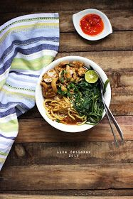 One of Jakarta culinary delights, Mie Kangkung or Noodle with water spinach. If you like sweet soy chicken, then most probably you gonna...