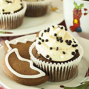 Heute habe ich mir mal wieder einen weihnachtlichen Cupcake ausgedacht: es ist ein Lebkuchen-Cupcake mit einem Honig-Frischkäse-Frosting. Sowohl der Teig als auch das Frosting sind sehr leicht und …