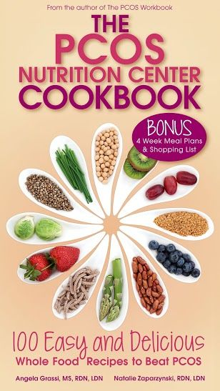 Book review of The PCOS Nutrition Center Cookbook: 100 Easy and Delicious Whole Food Recipes to Beat PCOS from A Little Bit of PCOS Blog #PCOS #Recipes #Cookbook