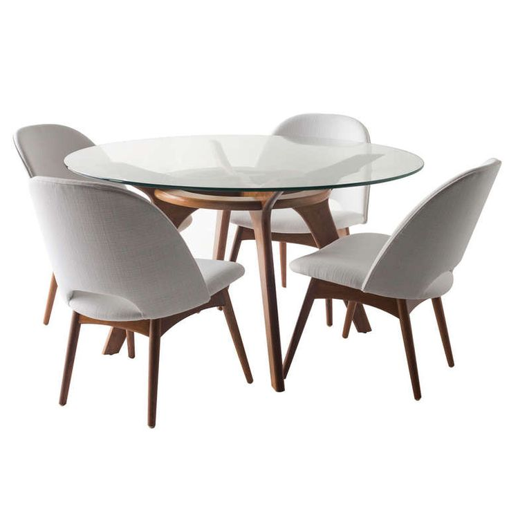 Adrian Pearsall Game Table and Chairs for Craft Associates | From a unique collection of antique and modern dining room sets at http://www.1stdibs.com/furniture/tables/dining-room-sets/