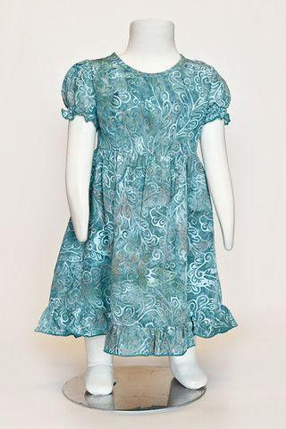 batik dress, toddler dress, girls dress, summer dress