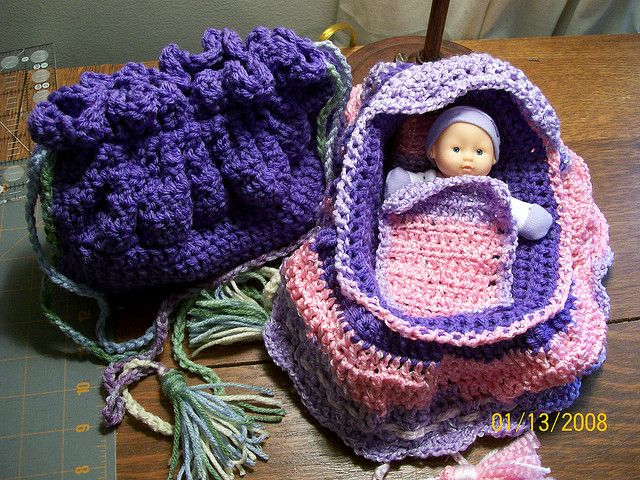 Crochet Bag Pattern Cotton : Ravelry: Cradle Purse pattern by Betty Rector Cradle ...