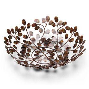 Leaf Design Fruit Bowl