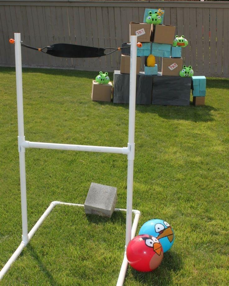 Diy Angry Birds Spiele Outdoor Kinder Garten Games Garden Diy Angry Birds Diy Games Garden Garten Outdoor Spiel Ideen Outdoor Spiele Lustige Spiele