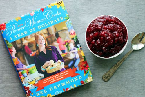the pioneer woman cooks: a year of holidays giveaway + recipe for easy homemade cranberry sauce from @Jane Maynard at thisweekfordinner.com