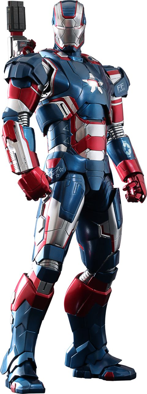 Marvel Iron Patriot Sixth Scale Figure by Hot Toys   Sideshow Collectibles