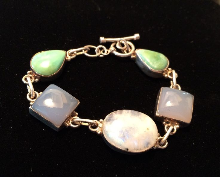 A personal favorite from my Etsy shop https://www.etsy.com/ca/listing/289373329/vintage-sterling-silver-multi-gem