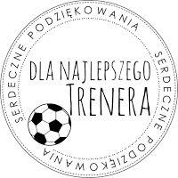 Digi stemple by Novinka: Podziękowania dla trenera