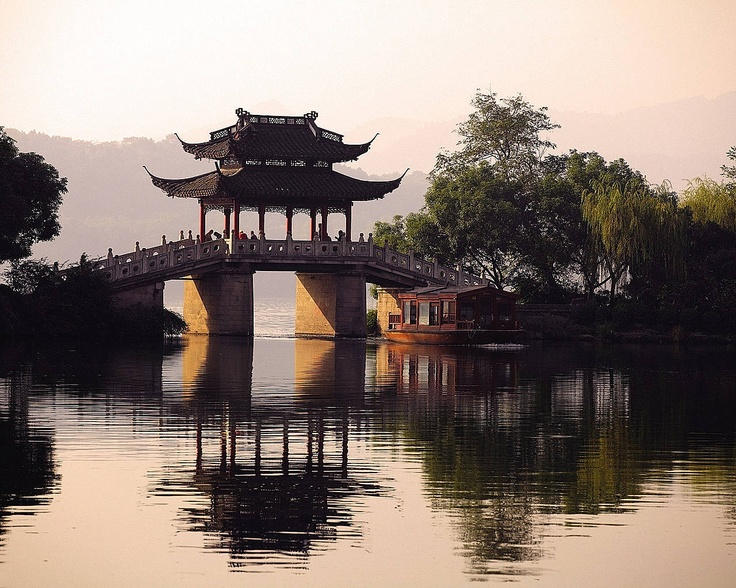 West Lake, Hangzhou, Zhejiang China