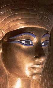 Thuya, mother of Queen Tiye, and descendant of Ahmose-Nefertari (great grandmother?)