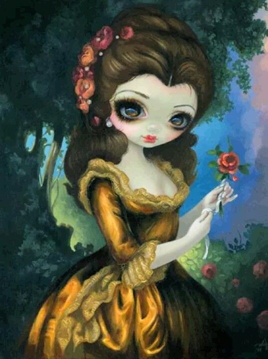 Belle by Jasmine Becket-Griffith