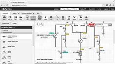 PartSim | TECHELEX PartSim is a free and easy to use circuit simulator that runs…