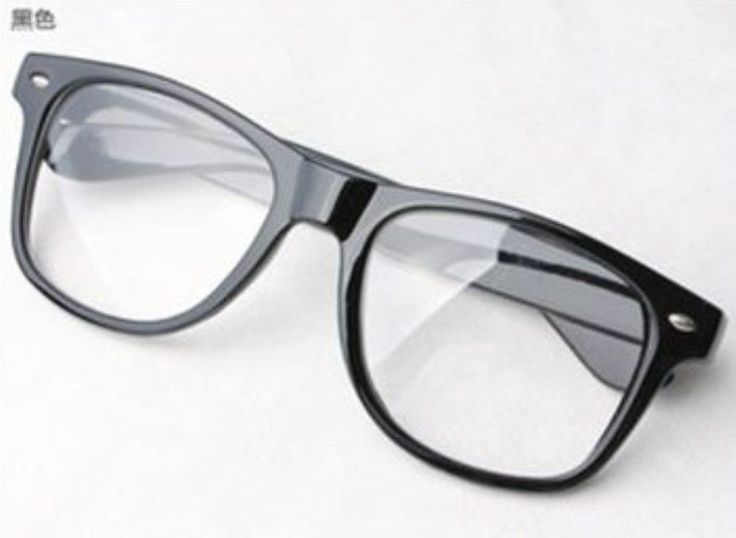 Black Frame Fake Glasses : 27 best images about Fake Glasses For Men on Pinterest ...