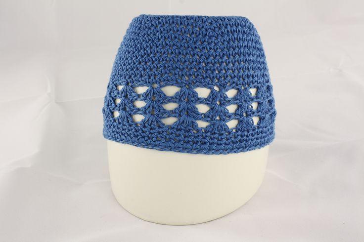 Blue Knit Hat