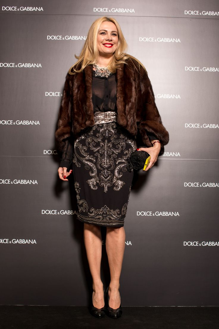 Opening of the Dolce & Gabbana flagship store in Romania