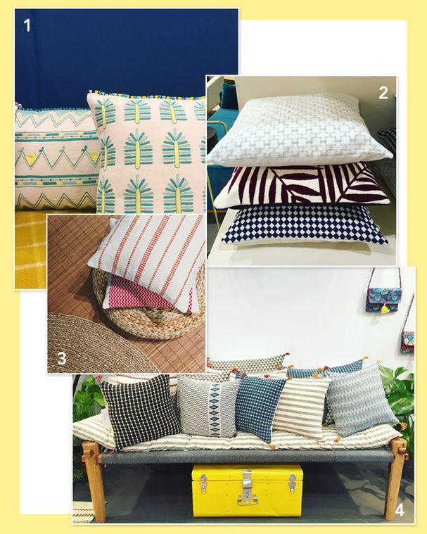 maison objet 2016 les tendances d co adopter cette saison coussin ethnique tendance. Black Bedroom Furniture Sets. Home Design Ideas