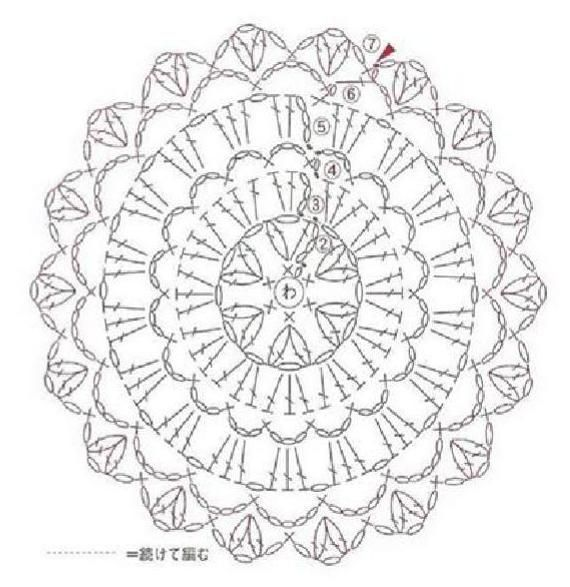 1092 best Haken mandala and doiley images on Pinterest