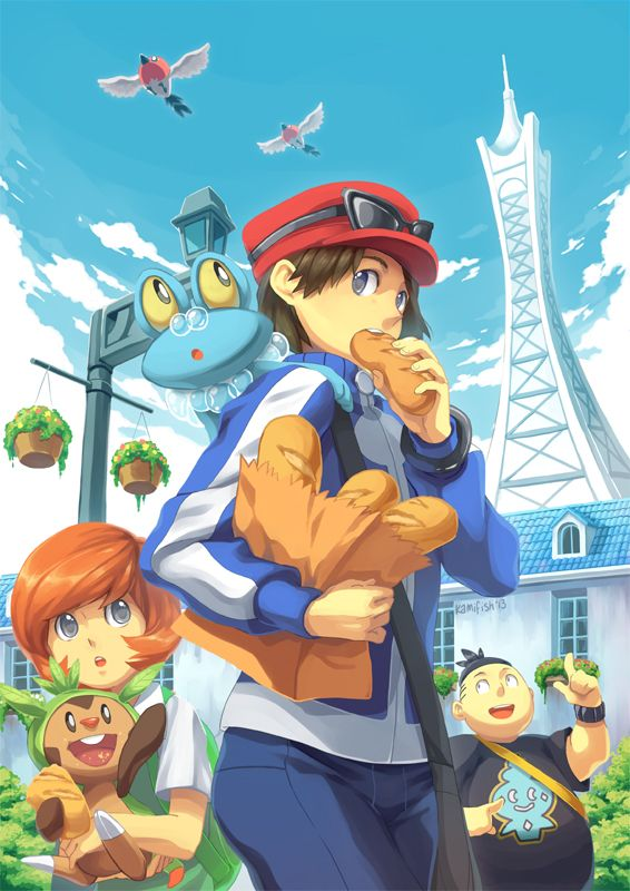 Pokemon XY by kamifish on deviantART