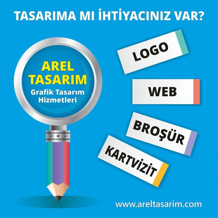 Hala bir logo'nuz yok mu? #arel #tasarım olarak uzman ekibimizle tüm #grafik tasarım ihtiyaçlarınıza cevap vermekteyiz.