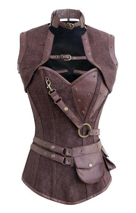 Witch Huntress Canvas Corset Halloween Costume!  This is one of thee coolest, most bad-ass additions to our wicked witch huntress costumes we have come across.  We've got a few more we're going to break out for the vampire huntress and werewolf huntress Halloween costumes that we're creating at our site!  Stay tuned and stop by often please.  PartyIdeasForHalloween.com