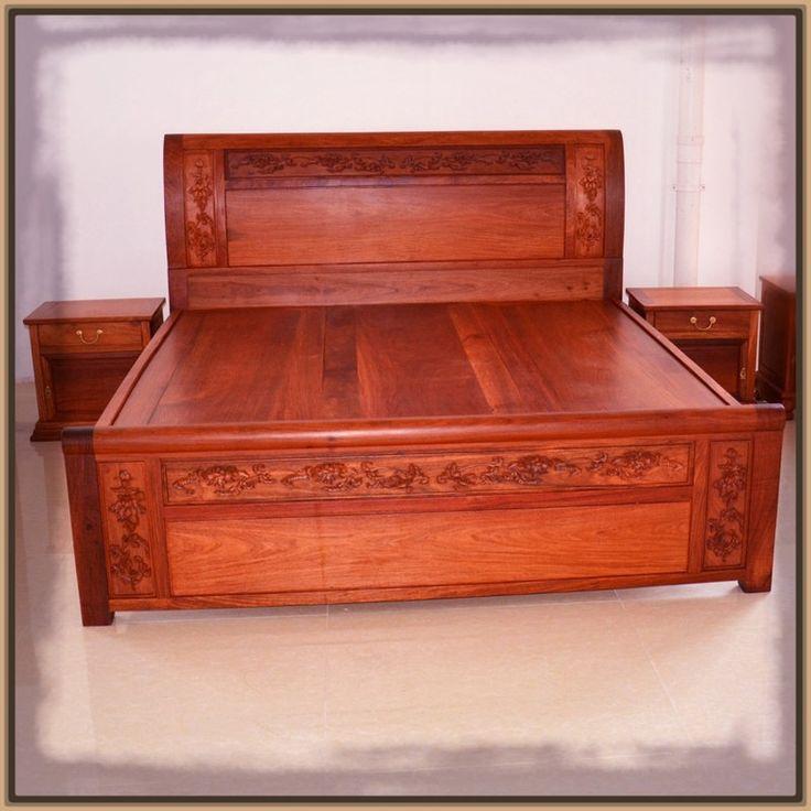 17 mejores ideas sobre camas rusticas de madera en for Camas con dosel de madera