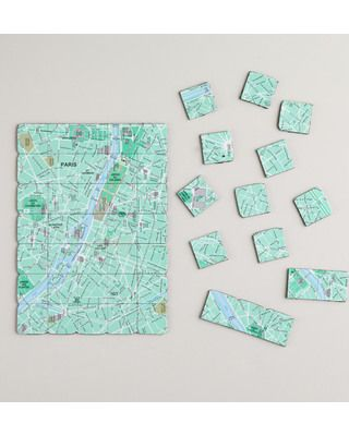 Spruce up the fridge with a little fun from these magnets that create a map of Paris! Get them here: http://www.bhg.com/shop/world-market-map-of-paris-magnets-p51c7a65fe4b0869dd23c1190.html
