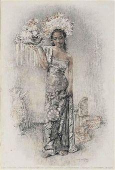Willem Gerard Hofker - Ni Tjawan,1938