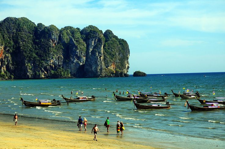 beach view - Ao Nang Beach, Krabi, Thailand