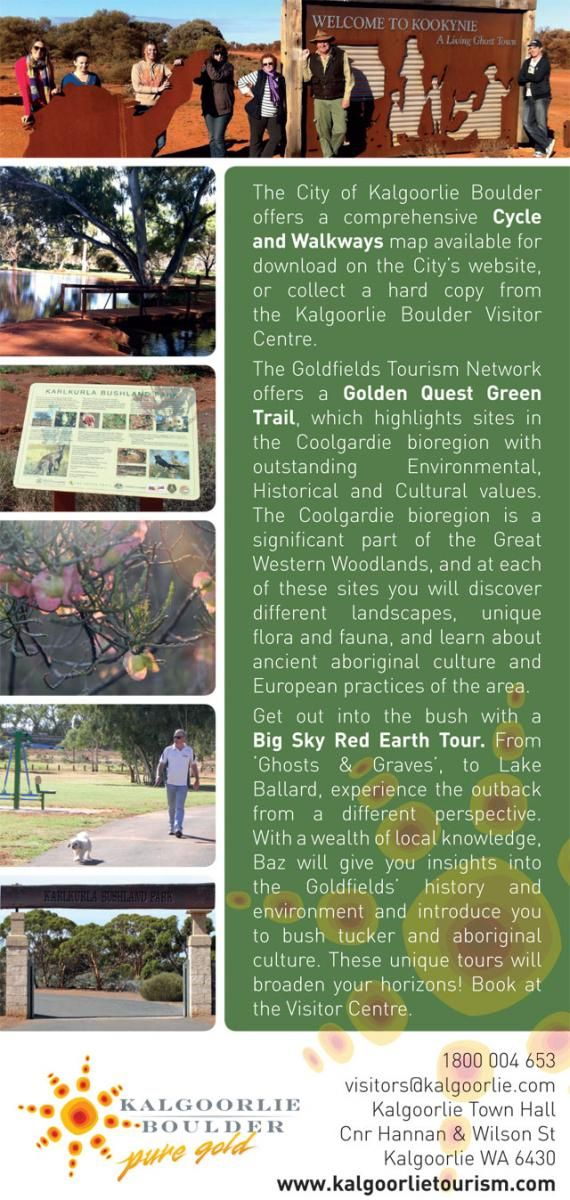 Outdoor Discovery | Kalgoorlie Boulder Tours Accommodation Information