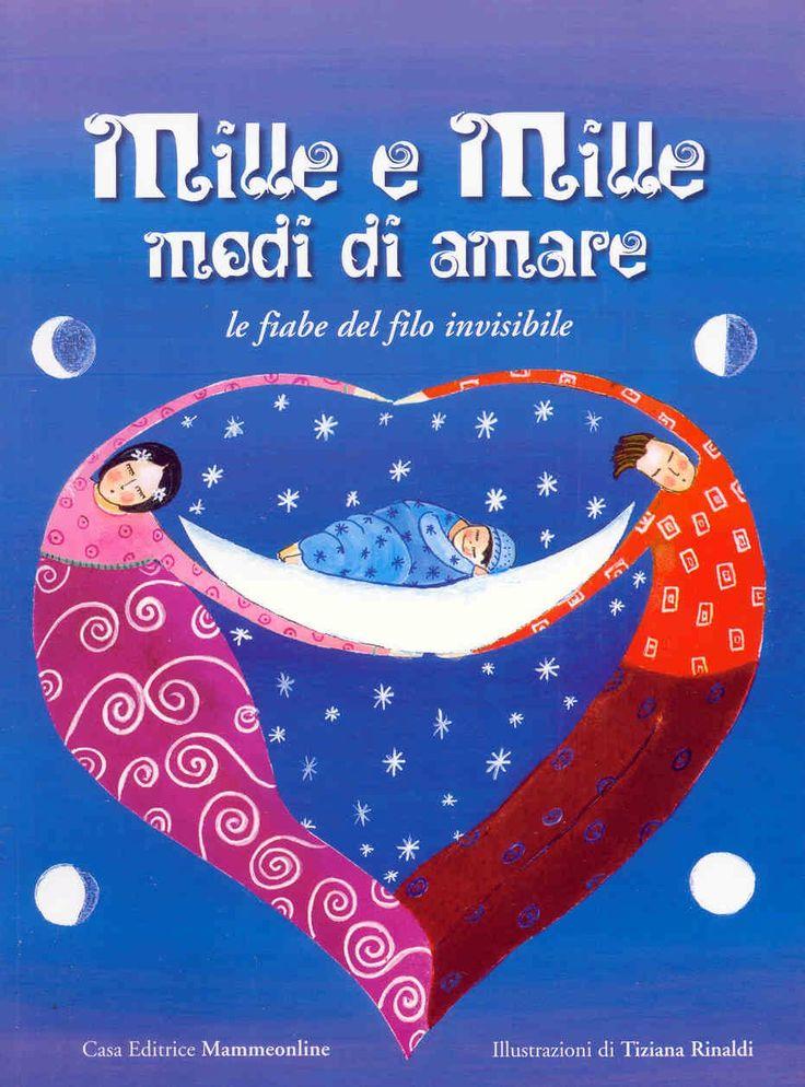 Mille e Mille modi di amare - book cover by Tiziana Rinaldi