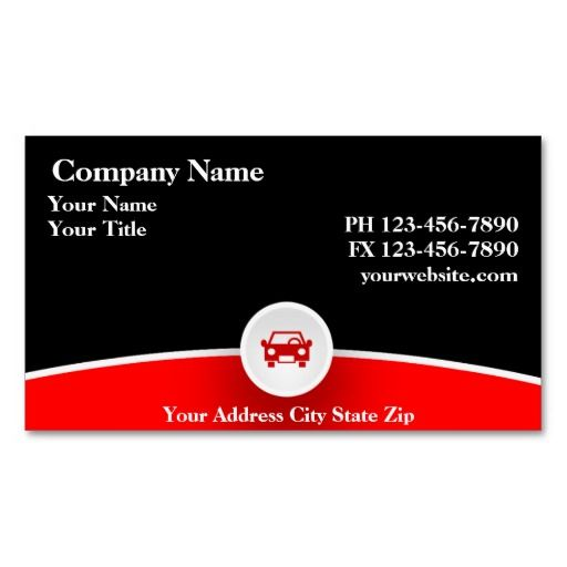 Best Automotive Business Card Templates Images On Pinterest - Mechanic business cards templates free