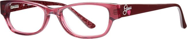 Guess Burgundy Cat Eye Frames for Women | Visionworks