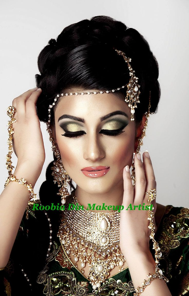672 Best Indian Amp Asian Bridal Hair Makeup And