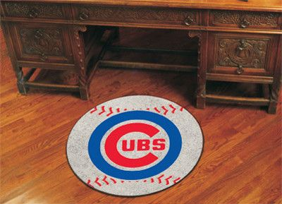 Let everyone know which College team reigns supreme when guests enter your home. Put your loyalty in plain view with this Chicago Cubs Baseball Mat by Fanmats. The nylon mat is chromojet printed in tr
