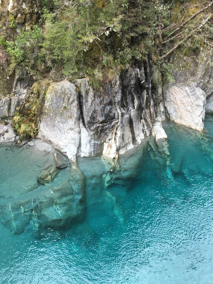 Blue Pools. Wanaka. New Zealand Travels