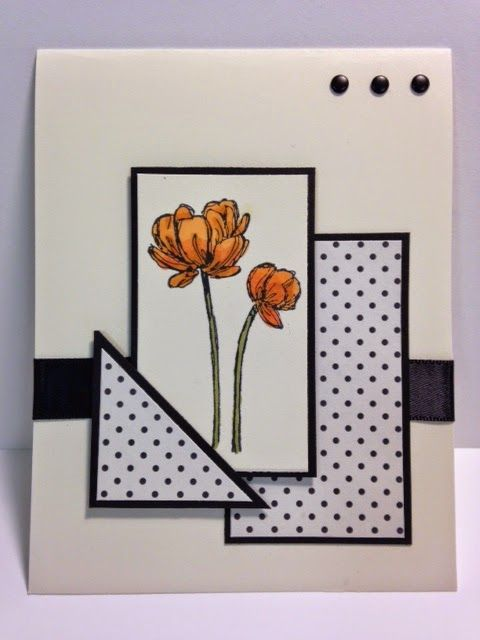 Bloom With Kindness, One Sheet Wonder Technique, Stampin' Up!, Rubber Stamping, Handmade Cards
