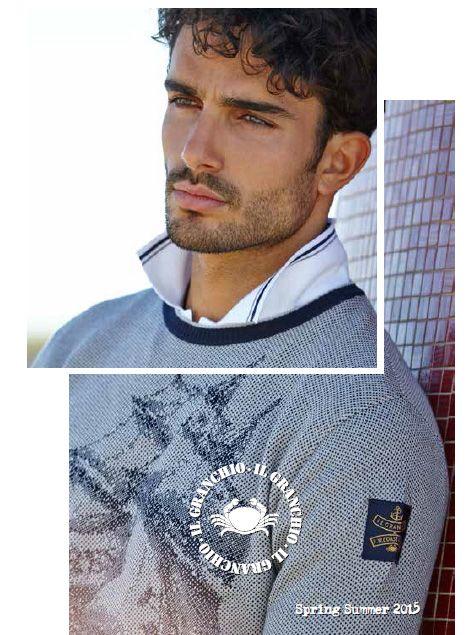 Il granchio SS15, moda italiana #ilgranchio #ss15 #italia #moda #look #hombre #distribuidortextil #españa #promocionmoda