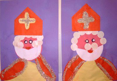 Knutsel: Sinterklaas