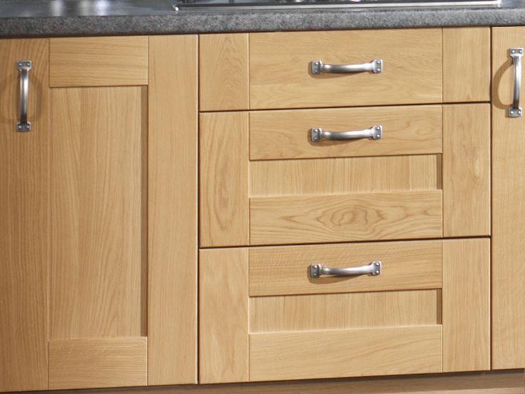 Unfinished Oak Kitchen Cabinet Doors