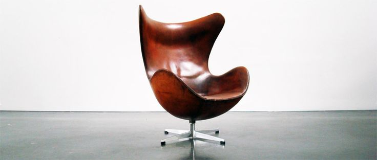 Egg Chair First Production by Arne Jacobsen   Denmark  1958/60