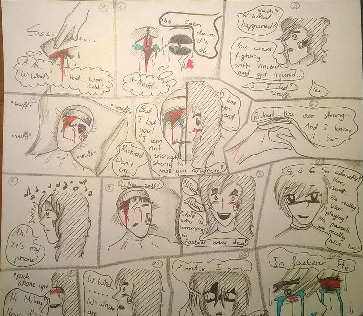 Vincent x Nash Comic 1-2