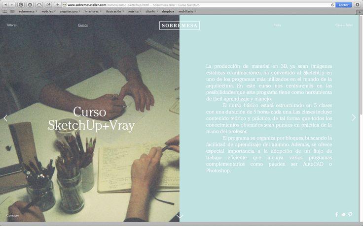 www.sobremesataller.com—Curso SketchUp (diseño: Naranjo—Etxeberria)