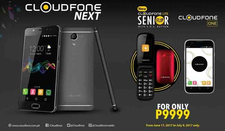 Deal Alert: Cloudfone bundles three phones for Php9,999