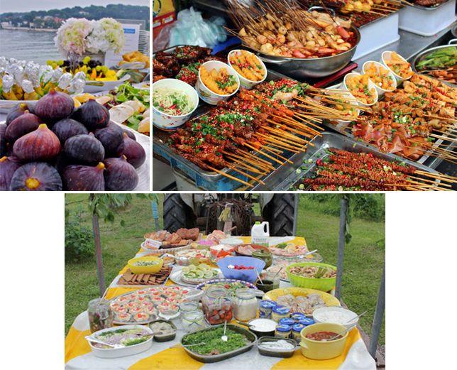 Шведский стол для летнего пикника - Гурмания - Гурмания на сайте ИЛЬ ДЕ БОТЭ