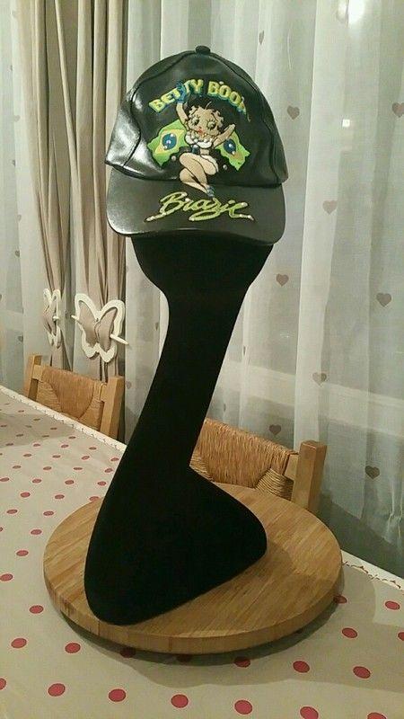 Casquette noire Brazil/ Betty Boop