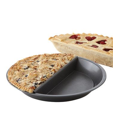 Take a look at this Split-Decision 9'' Pie Pan by Chicago Metallic Bakeware on #zulily today!