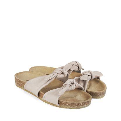 Sandal m blød fodseng