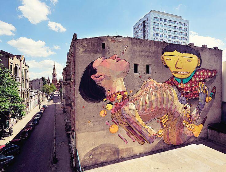 Os Gemeos, Fundacja Urban Forms